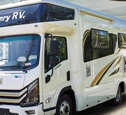 房车出租流程上汽大通RV80 D型